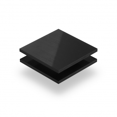 Polyetheen hard PE plaat zwart