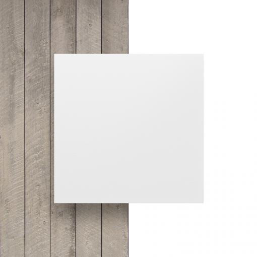 Voorkant HPL wit plaat