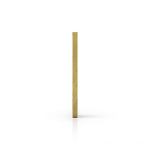 Gespiegeld plexiglas zijkant goud
