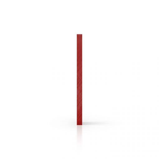 Gespiegeld plexiglas zijkant rood