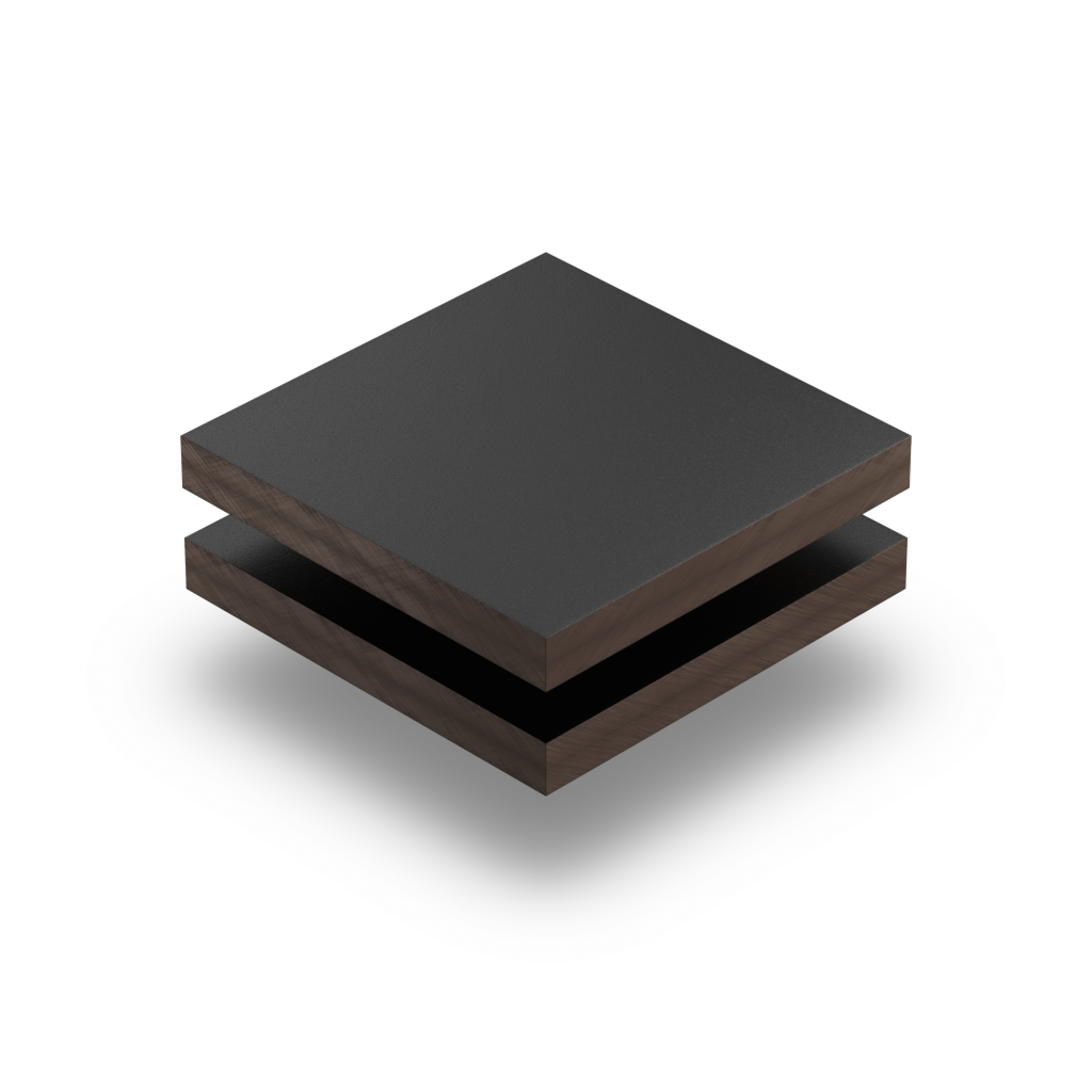 HPL Trespa Izeon zwart RAL 9005