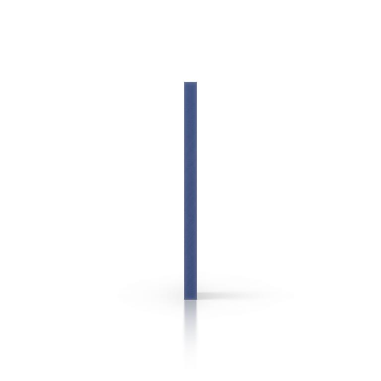 PVC geschuimd zijkant blauw
