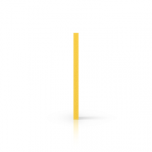 PVC geschuimd zijkant geel