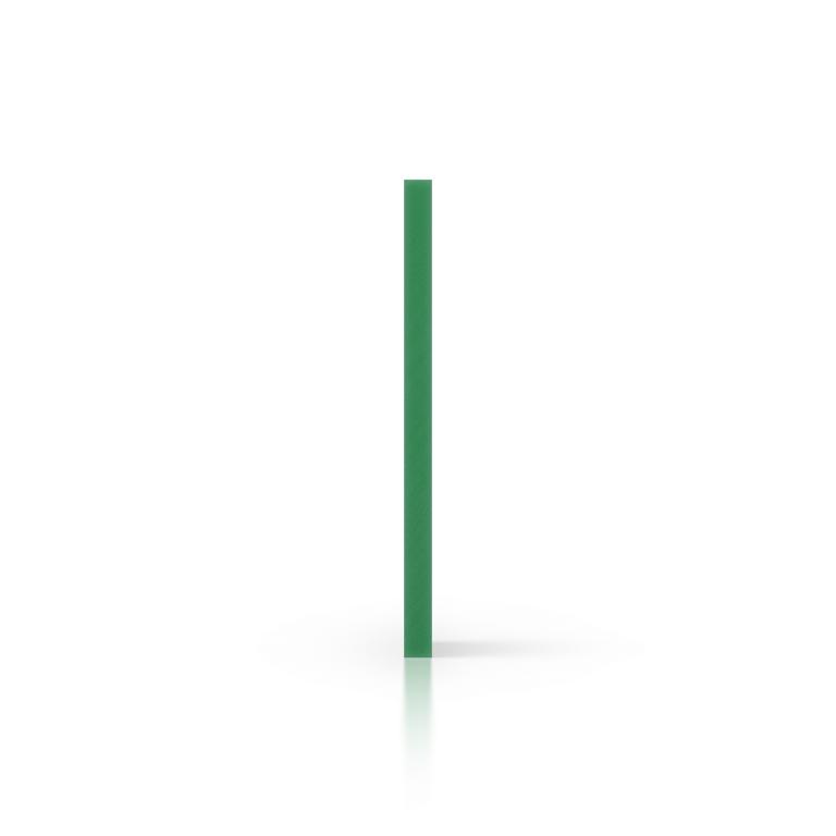 PVC geschuimd zijkant groen