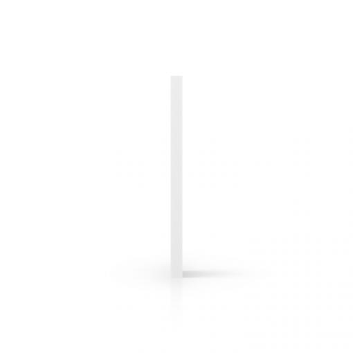 PVC geschuimd zijkant wit