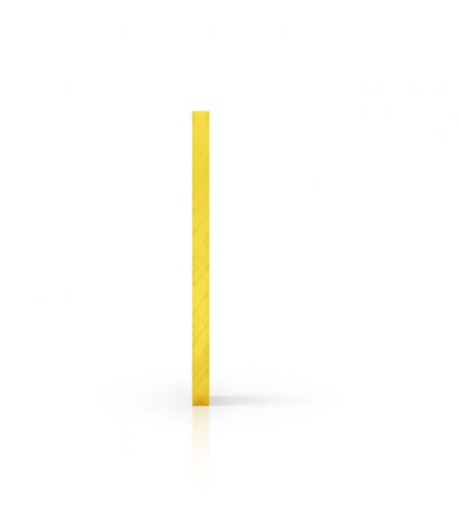 Plexiglas getint zijkant geel
