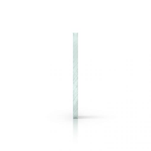 Plexiglas getint zijkant glaslook