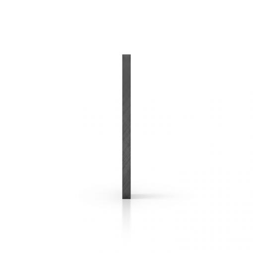 Plexiglas getint zijkant grijs