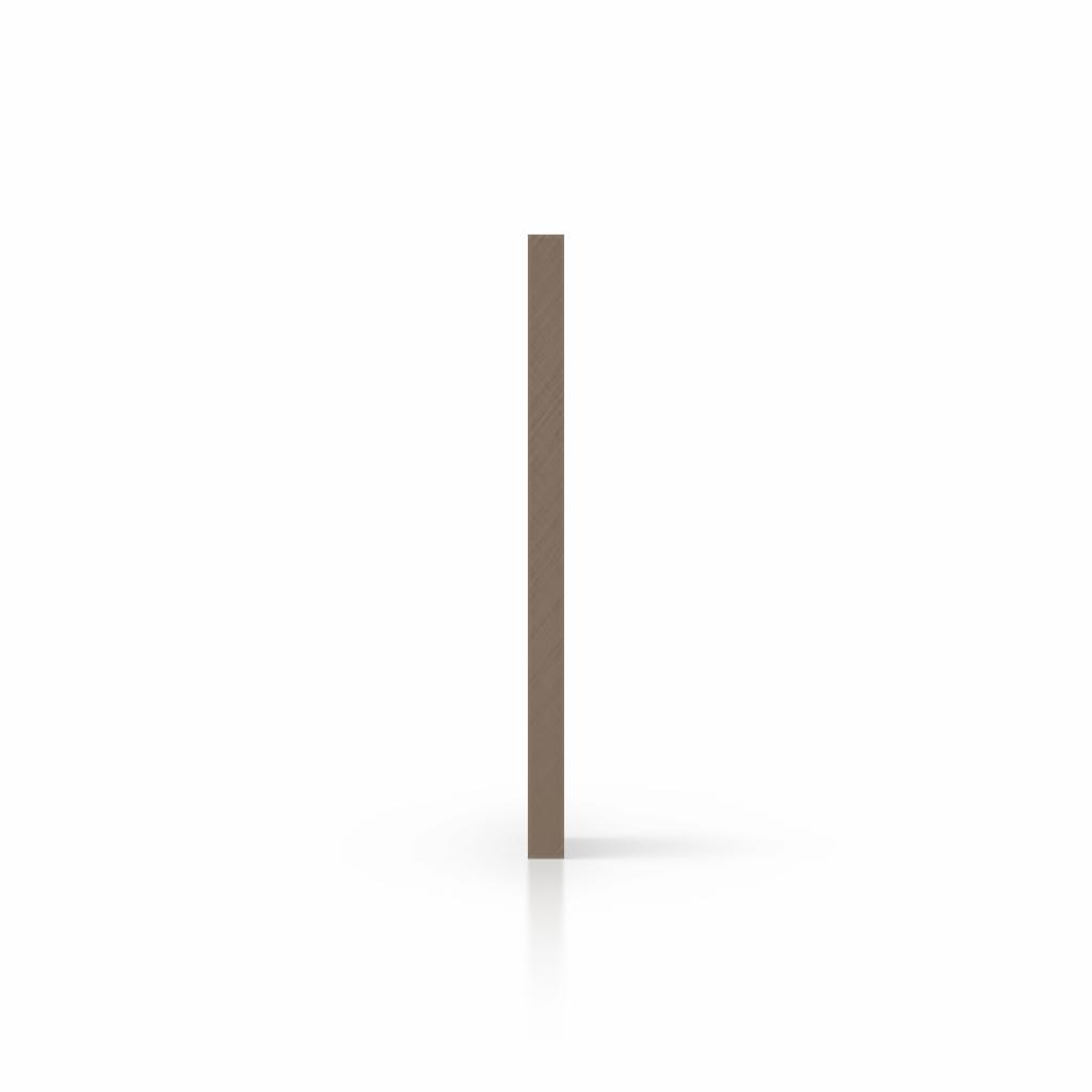 Plexiglas satijn zijkant klei mat