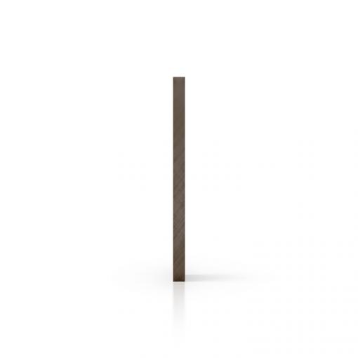 Polycarbonaat zijkant getint bruin