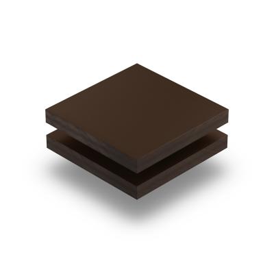Chocoladebruin HPL gestructureerd RAL 8017