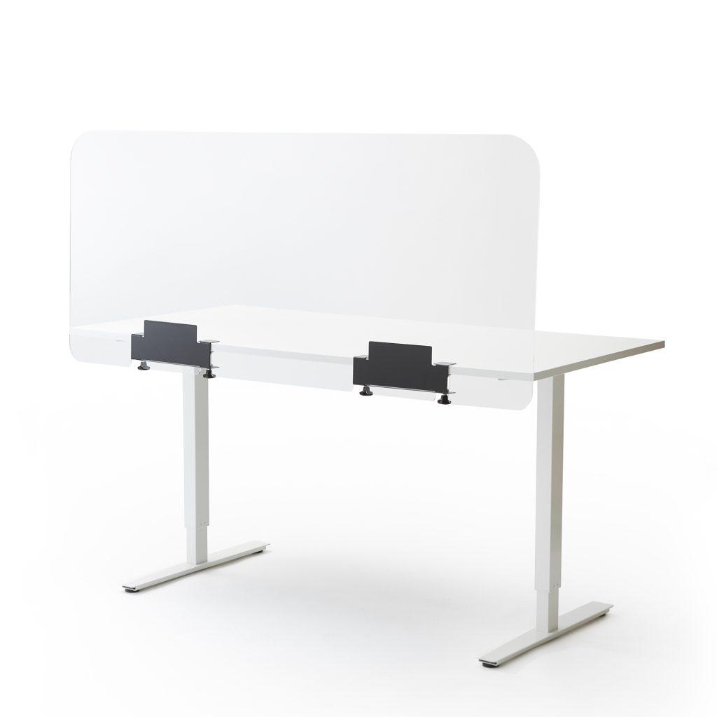 Bureau of tafelscherm groot
