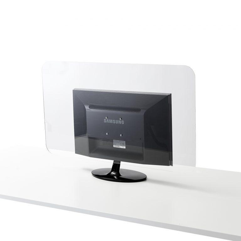 Monitorscherm van plexiglas plaat