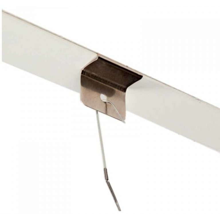 plafondclip bevestiging