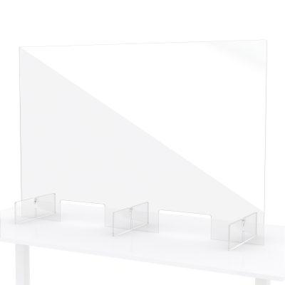 Plexiglas scherm balie toonbank