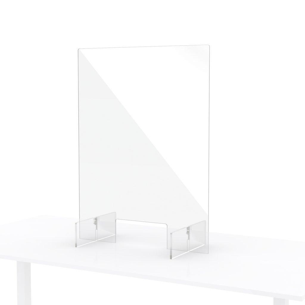 Plexiglas scherm balie toonbank klein