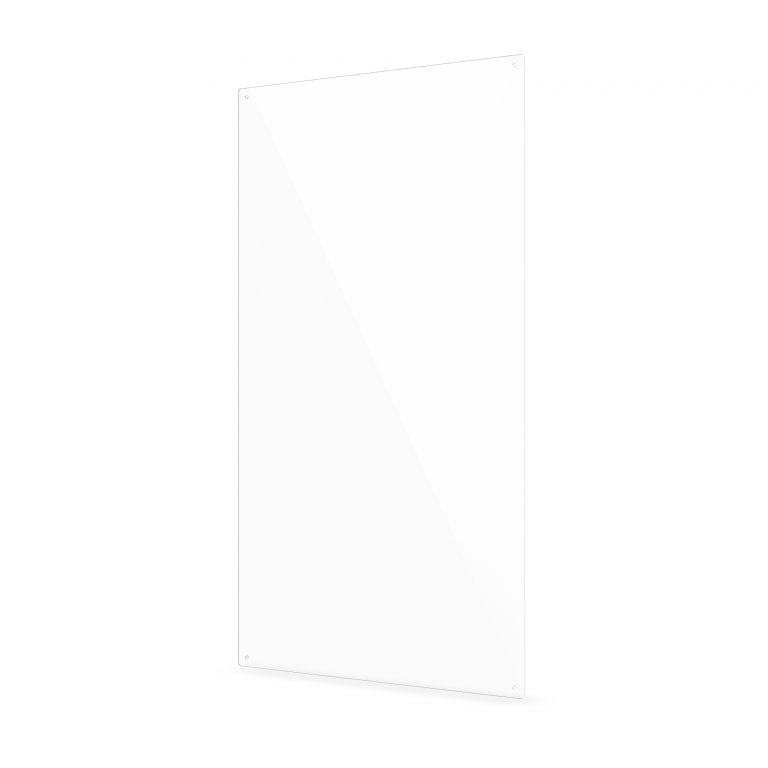 Plexiglas scherm met gaten groot