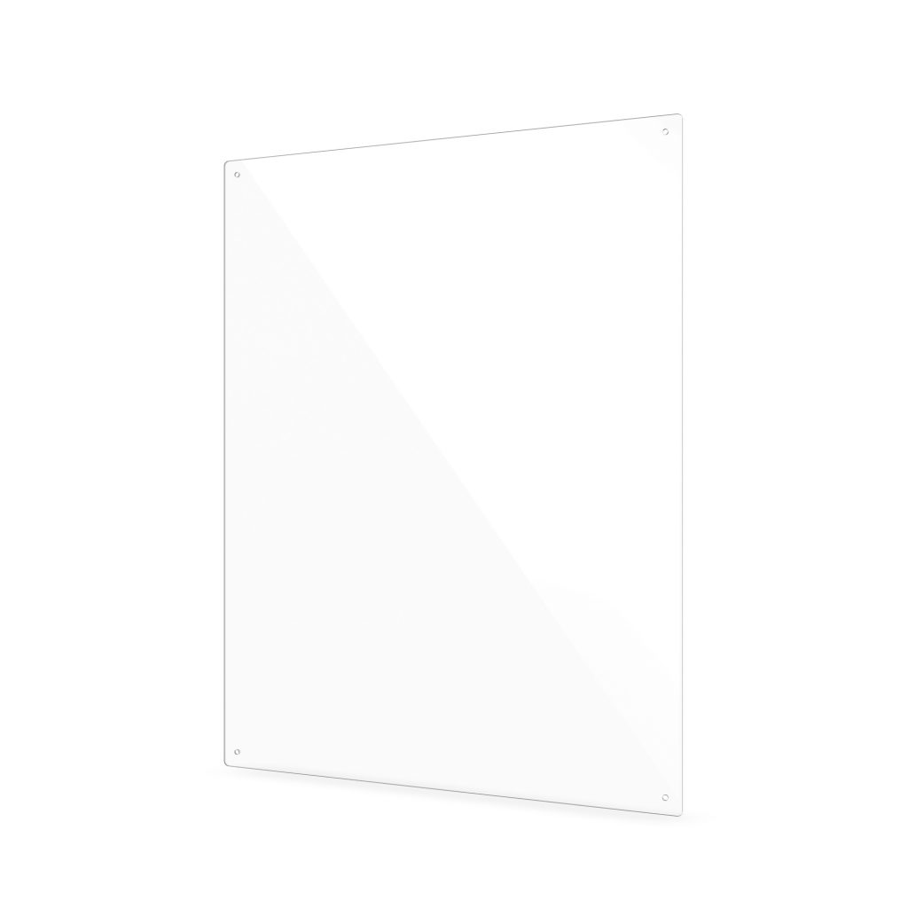 Plexiglas scherm met gaten klein