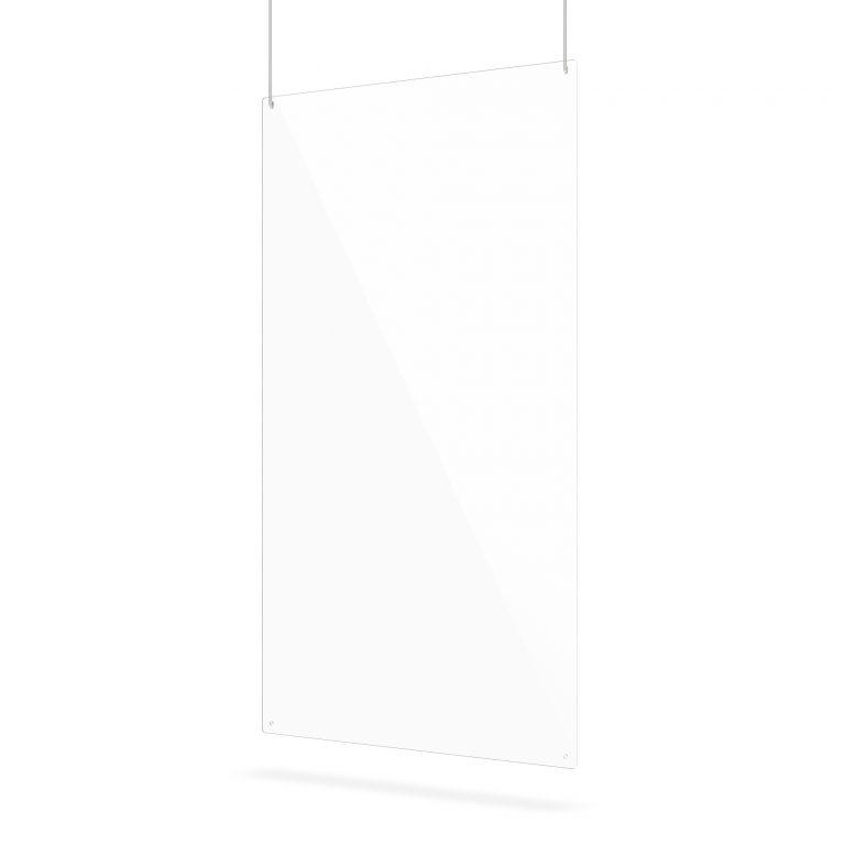 Plexiglas scherm met montagegaten