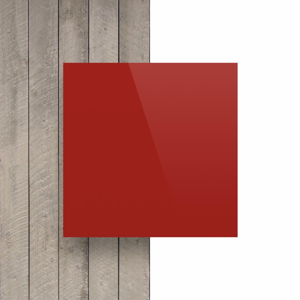 Letterplaat signaalrood voorkant