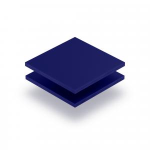 Letterplaat nachtblauw GS mat