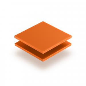 Letterplaat oranje GS mat