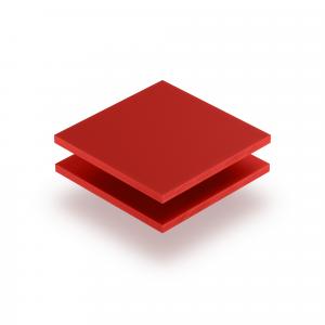 Letterplaat signaalrood GS mat