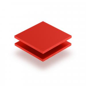 Letterplaat verkeersrood GS mat