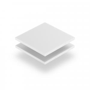 Letterplaat wit GS mat