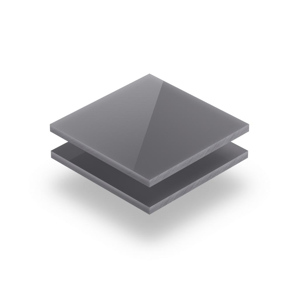 Letterplaat grijs GS glanzend
