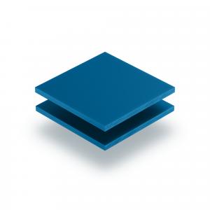 Letterplaat verkeersblauw GS mat